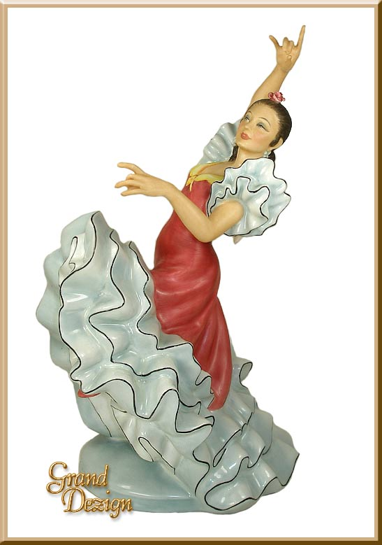 Spanish Flamenco Dancer HN2831